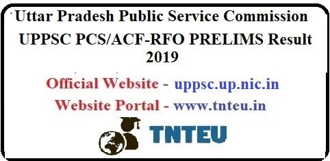 UPPSC PCS/ACF-RFO PRELIM Result 2019