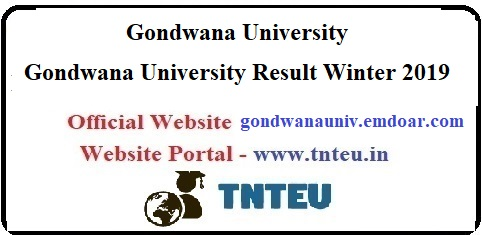 Gondwana University Result Winter 2019