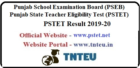 PSTET Result 2019
