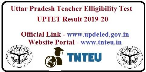 UPTET Result 2019-20