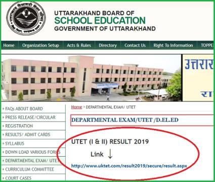 UTET Result 2019