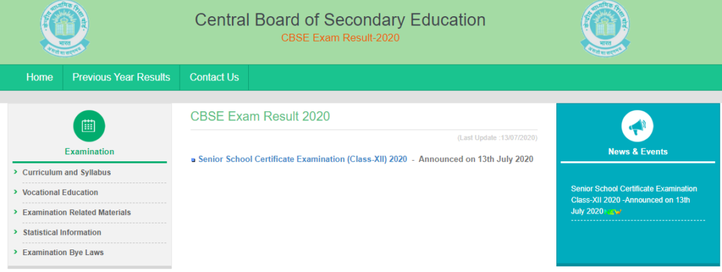 Cbseresults Nic In 10th Result 2020 New Link Cbse Board 10th Result Name Wise School Wise Digilocker App Tnteu News