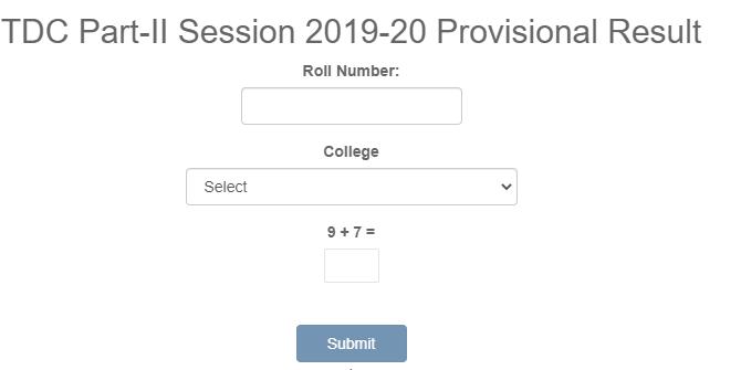 brabu tdc part 2 result 2021