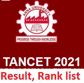 TANCET Result, Rank List, Marksheet